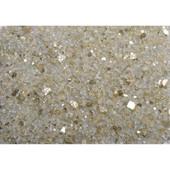 American Fireglass Gold Reflective | 1/4-in Fire Glass | 10 Lb