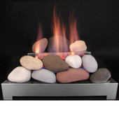 24-in Alterna FireStones | Calico | VF | SS Burner Remote Control | LP