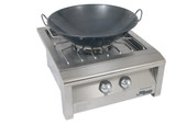 Alfresco 22-in Commercial Wok for Versa Power Cooker | AGVPC-WOK