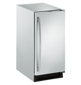 15-in Stainless Steel Ice Maker | Left Hinge