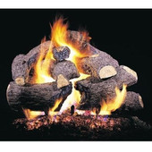 18-in Charred Royal English Oak Vented Logs | No Burner