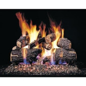 CHD-18/20 Peterson Gas Logs 18 Inch Charred Oak Logs Only No Burner
