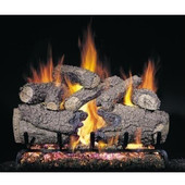 CHF-24 Peterson Gas Logs 24 Inch Charred Forest Logs Only No Burner