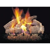 "Real Fyre 24"" Charred Rugged Split Oak Logs"