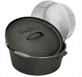 Cast Iron Dutch Oven 20-Qt.