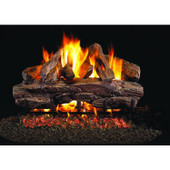 18-in Cedar Gas Log Set | Outdoor G45 Burner | Match Light | NG