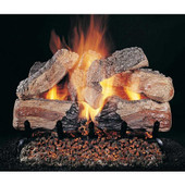 20-in Evening Desire Double Face Log Set With Flaming Ember Burner
