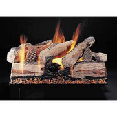 24-in Evening CrossFire See-Thru Gas Log Set | Pan Burner | Match Light | NG