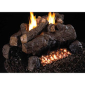 18-in Evening Fyre Split See-Thru Log Set | NG