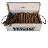 FatWood Peach Box - 7 lbs. of Wood
