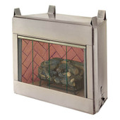 "O36NRRHA 36"" Alpine Outdoor Vent Free Fireplace System Includes Vent Free Gas Logs - Natural Gas"