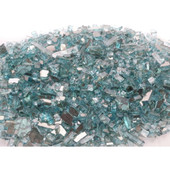 American Fyre Azuria Reflective | Fire Glass | 10 Lbs