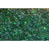 American Fyre Emerald Glass Gems | 40 Lbs