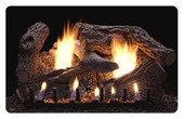 24-in Super Sassafras Vented/Vent Free Fireplace Replacement Logs Only