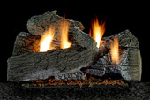WildWood 5 piece Refractory Log Set | Burner Sold Separately