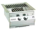Fire Magic Built-in Natural Gas Power Burner w Stainless Grids