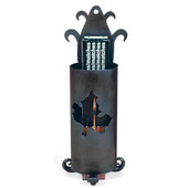 Wrought Iron Match Holder