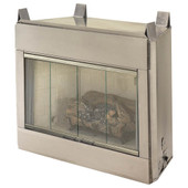 36-in Outdoor Vent Free Fireplace System w  Logs   LP