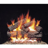24-in Post Oak Vented Logs Only No Burner