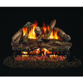 18-in Red Oak Log Set | Vented | G4 Burner | Match Light | NG