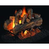 18-in Split Oak Designer Plus Log Set | G45 Burner | Match Light