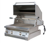 Solaire 30-in Infrared Built-in Natural Gas Grill, Rotis | SOL-AGBQ-30IR