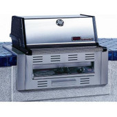 MHP TKJ2-NS Natural Gas Grill W/ SearMagic Grids - Built In