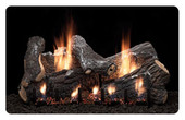 18-in Sassafras Vented/Vent Free Fireplace Replacement Log Set