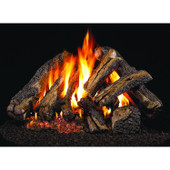18-in Western Campfyre Log Set | Outdoor G45 Burner | Match Light | NG