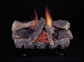 "24"" Evening Embers C5-Triple Natural Gas Burner Set, Remote Ready"