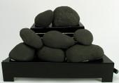"""Rasmussen 24"""" Black FireStones"""