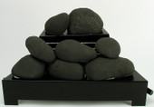 FireStones in Black 36 pieces