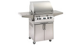 Fire Magic Aurora 530S Grill on Cart w All Cast Stainless Steel, Rotisserie | NG