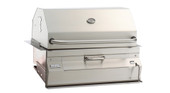 Firemagic 24-in Charcoal Series Built-in Grill w Smoker Oven/Hood