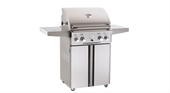 "AOG 24"" Portable Grill w Rotisserie 