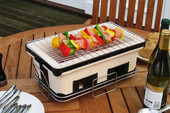 Large Rectangle Yakatori Charcoal Grill