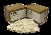 7 1/8 x 3 3/8, Ceramic Flat Flare Busters | DPA116