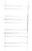 Stainless Flame Tamer Rack