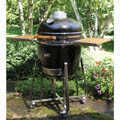 Kamado Grill on Stand