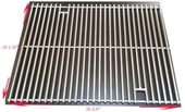 OCS cooking grate set for 3 burner grills