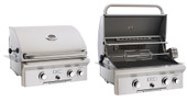 "AOG 24"" Built-in Propane Grill, Rotisserie 