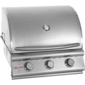 Blaze 25-in 3 Burner Built-in Gas Grill | LP