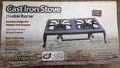 Double Burner Cast Iron Stove