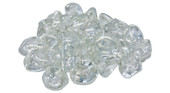 American Fyre GLD-10-C Peterson Clear Diamond Nuggets Fire Glass