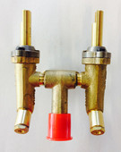 Phoenix brass valve top view