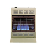 Hearthrite Blue Flame Propane Heater, T-stat, 20k