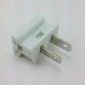 SPT1 Male Plugs White