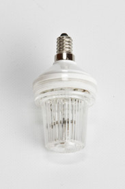 Clear C9 LED strobe