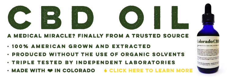 CBD Oil, From A Trustworthy Source...