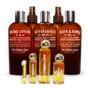 BATH & BODY COLLECTION (8 Ounce Shown): Body Lotion, Dry Body Oil, Aftershave Balm, Body Spritz, Bath Gel  á  PERFUME OIL SIZES: 14 Day Sample, 1/4 Ounce, 1 Ounce, 1/2 Ounce